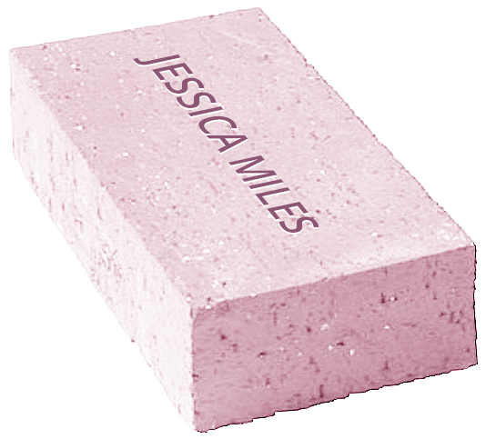 honor wall brick